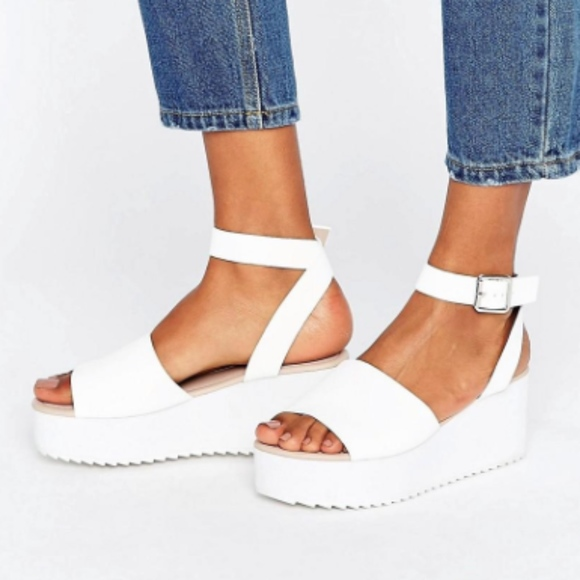 d32f4106e03a ASOS Take Off Wedge Sandals